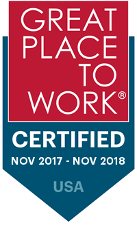 Great Place To Work: November 2017 through November 2018